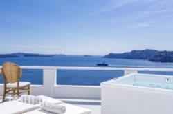 White Pearl Villas in Oia, Sandorini, Cyclades Islands