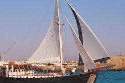Yacht Charter-Traditional Motor Sailer 51FT in Stalida, Heraklion, Crete