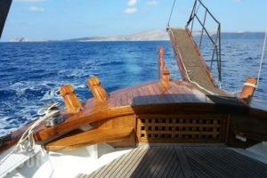 Yacht Charter-Traditional Motor Sailer 51FT_best deals_Yacht_Crete_Heraklion_Stalida