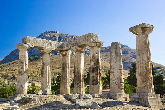 Corinth Tourist guide, catalog and travel guide, Greece catalogue,1000.gr
